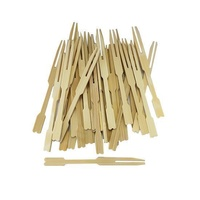 Disposable Bamboo Mini Fork / Pick 90mm Pkt of 100