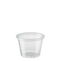 Clear Plastic Portion Cup 30ml Ctn of 5000