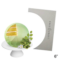 Cake Craft Buttercream Comb Sphere Style 6 Inch