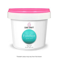 Cake Craft Fondant Pure Teal 1kg