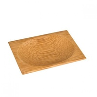Disposable Bamboo Mini Dish Oval Packet of 12 80mm x 60mm