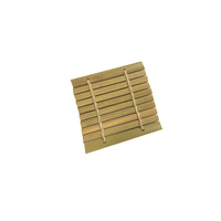 Disposable Bamboo Mini Dish / Mat 6x6cm Pkt of 48