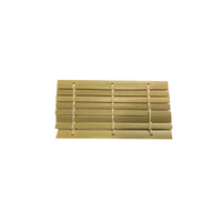Disposable Bamboo Mini Dish / Mat 9x5cm Pkt of 36