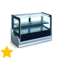 Anvil Countertop Showcase Cold 140L
