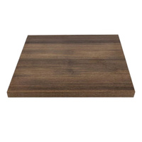 Bolero Indoor Thick Table Top Square 600mm Rustic Oak