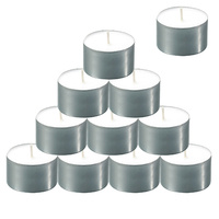 9 Hour Duration Tealight Candles Pkt of 50