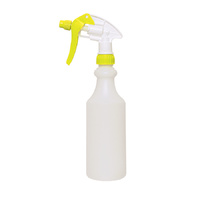 500ml Spray Bottle with 185mm Yellow Hep Trigger