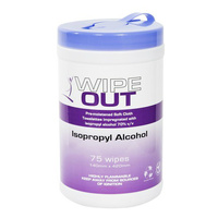 Wipe Out – Isopropyl Wipes